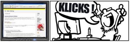 klicks